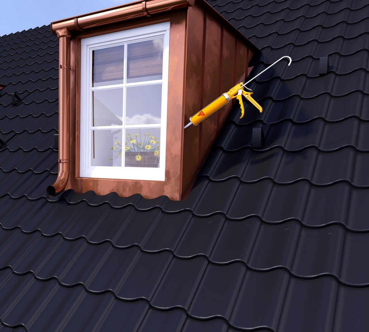 Make it pro roof sealing joints