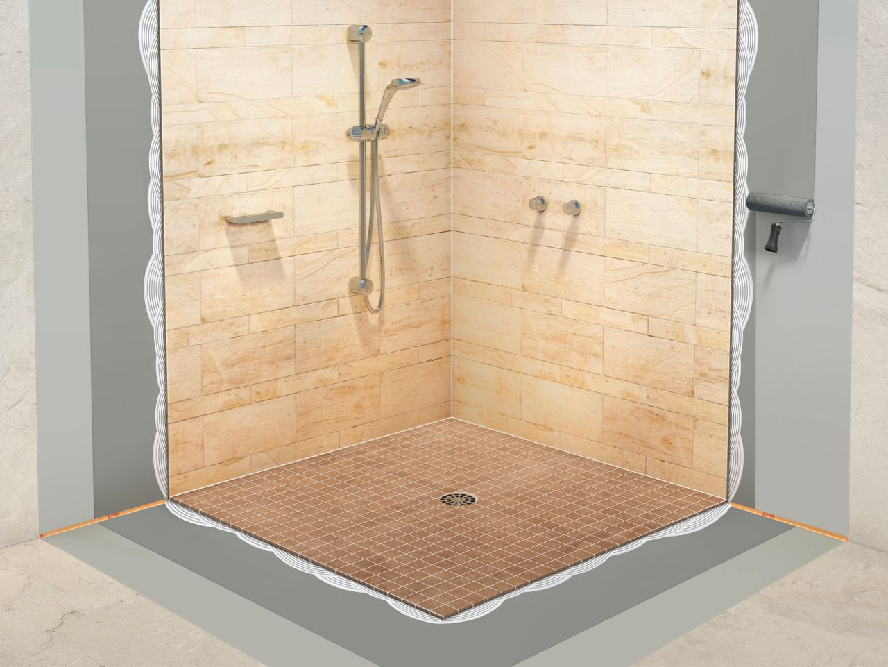 Make it pro bathroom tiles