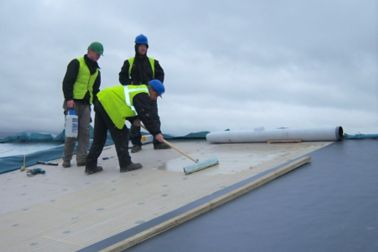 IE-Roofing Adhered Application