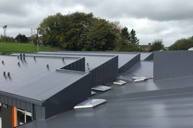 IE-Roofing-Sarnafil-Mechanically Fastened