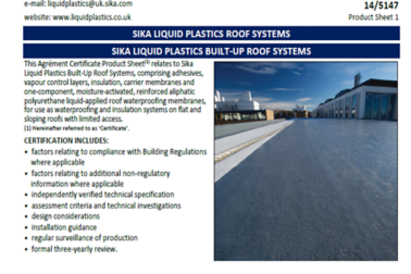IE-Roofing-Sikalastic-BBA Certificate