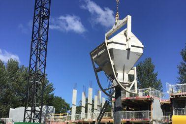Skipped concrete