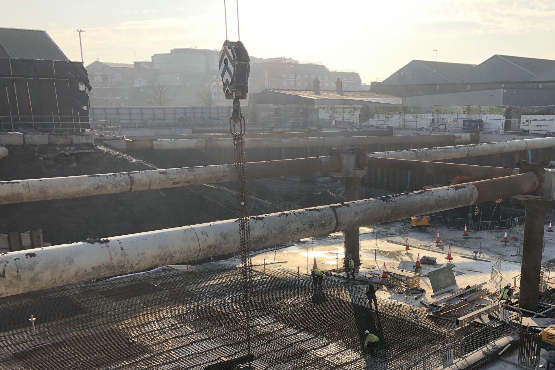 Penrose Quay waterproofing