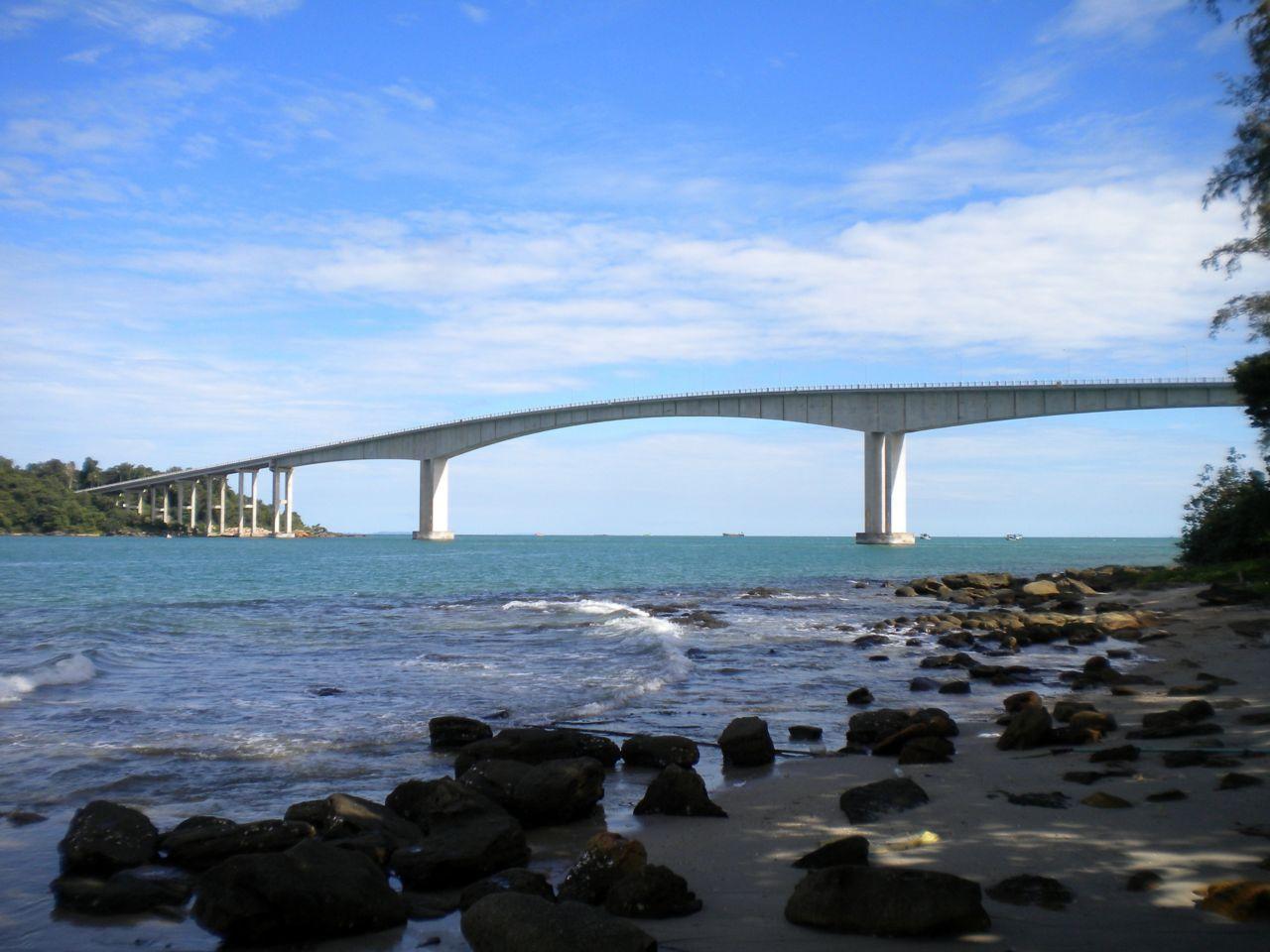 Koh puos bridge sihanoukville