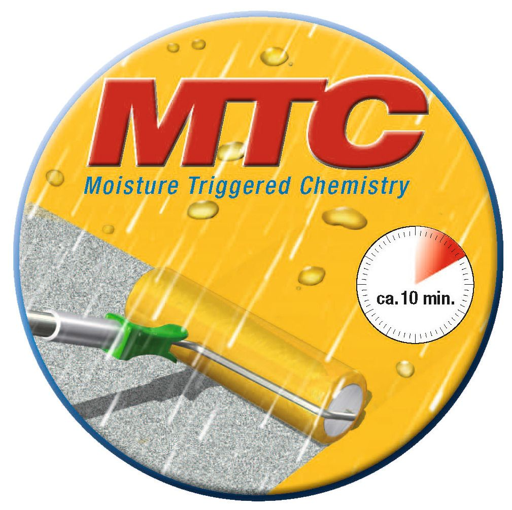 SikaRoof MTC - MOISTURE TRIGGERED CHEMISTRY - systém vytvrzování vzdušnu vlhkostí