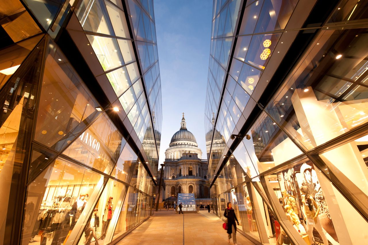 Facade glass St Pauls