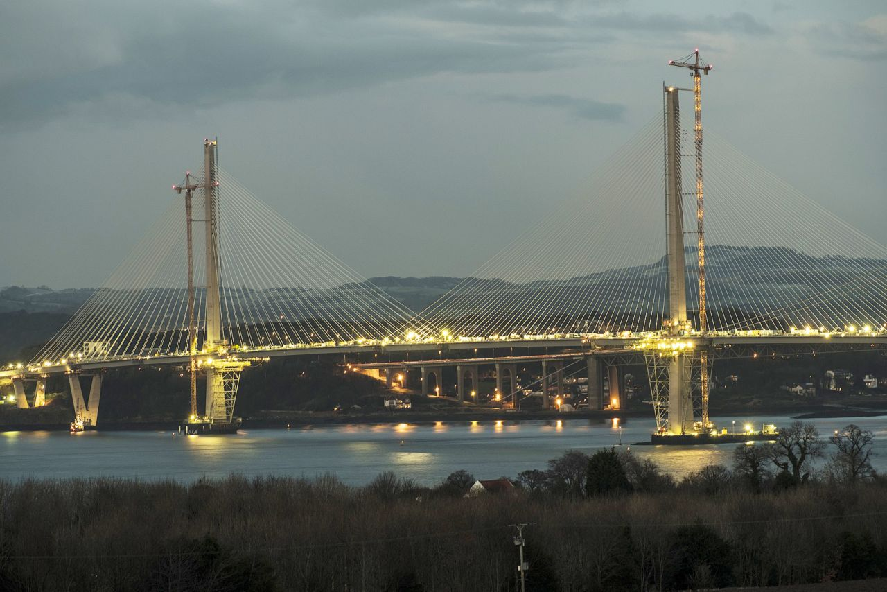 Queensferry Crossing Road Bridge