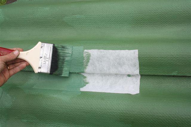 Waterproofing overlappings