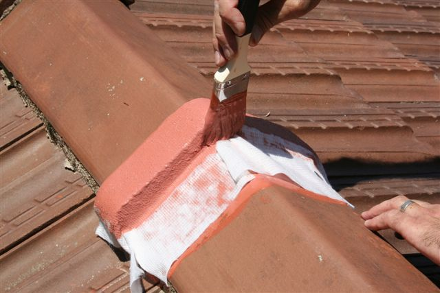 Waterproofing roof lapping