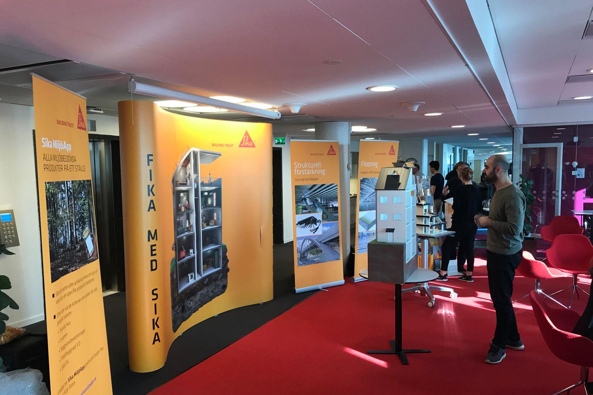 Fika med Sika - Sweco 2019.