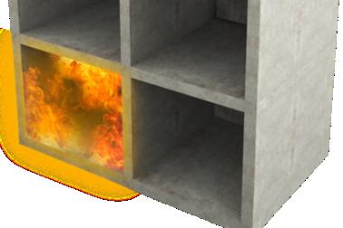 Passiv brandtätning