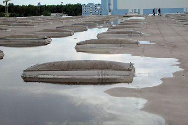 Dachsanierung mit Bitumenbahnen