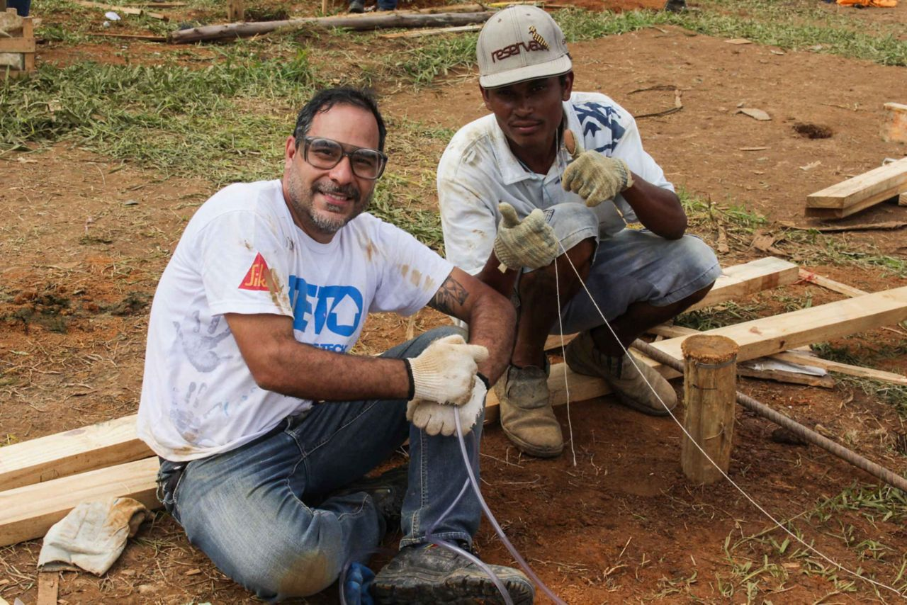 Sika supports Teto project in Brazil