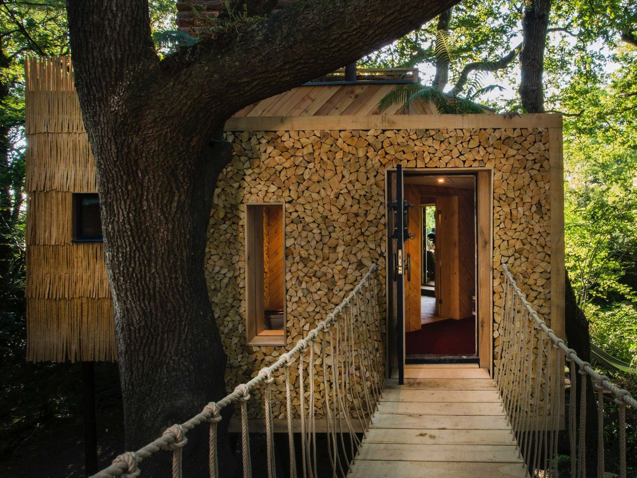 The Woodman's Treehouse in Dorset
