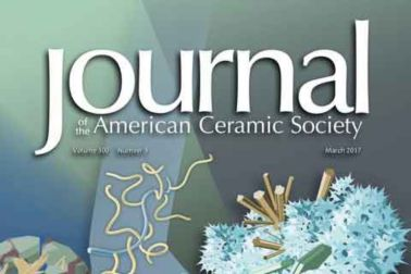 Cover Journal American Ceramic Society
