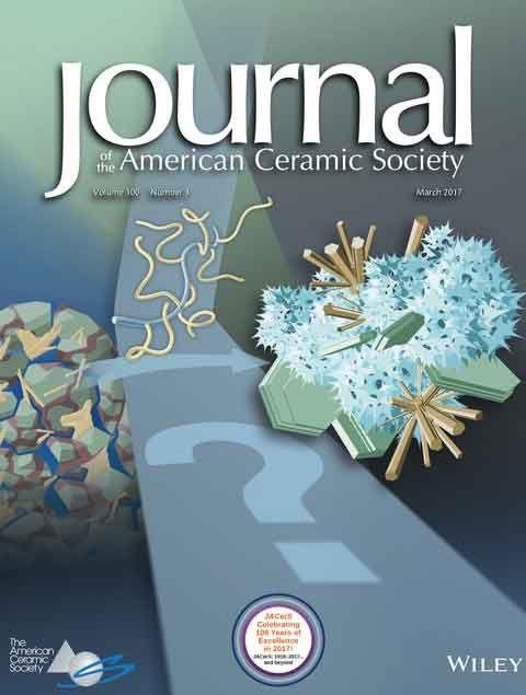 Cover Journal American Ceramic Society