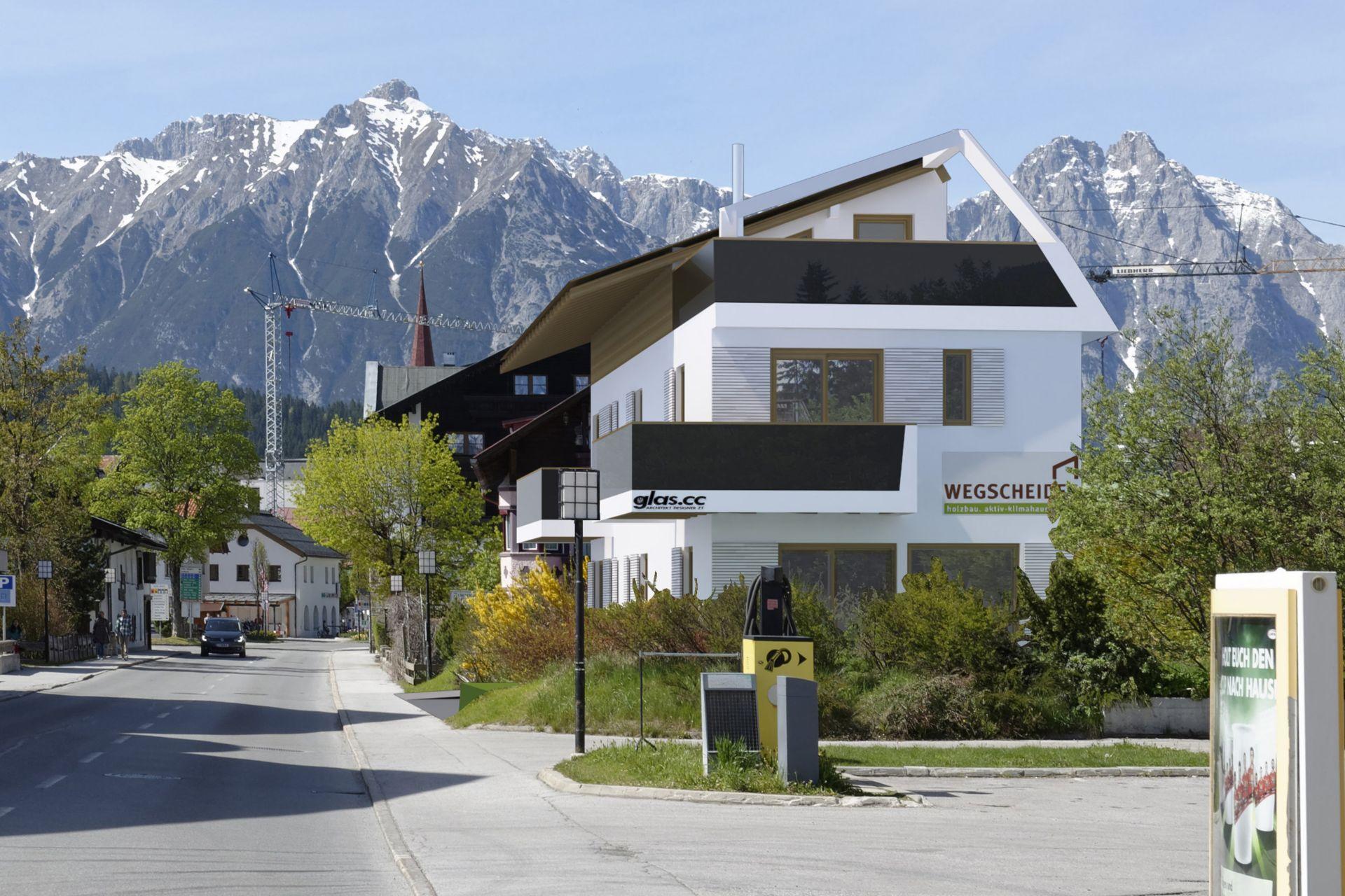 Aktiv-Klimahaus Seefeld Außenansicht