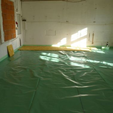 Sauber verlegte Dampfsperre Sarnavap® 1000 E