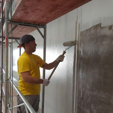 Wandbeschichtung mit Sikafloor390 N