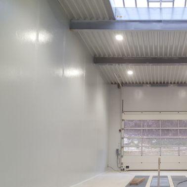 Funktionell und optisch sehr ansprechend erstrahlt die neue Waschhalle