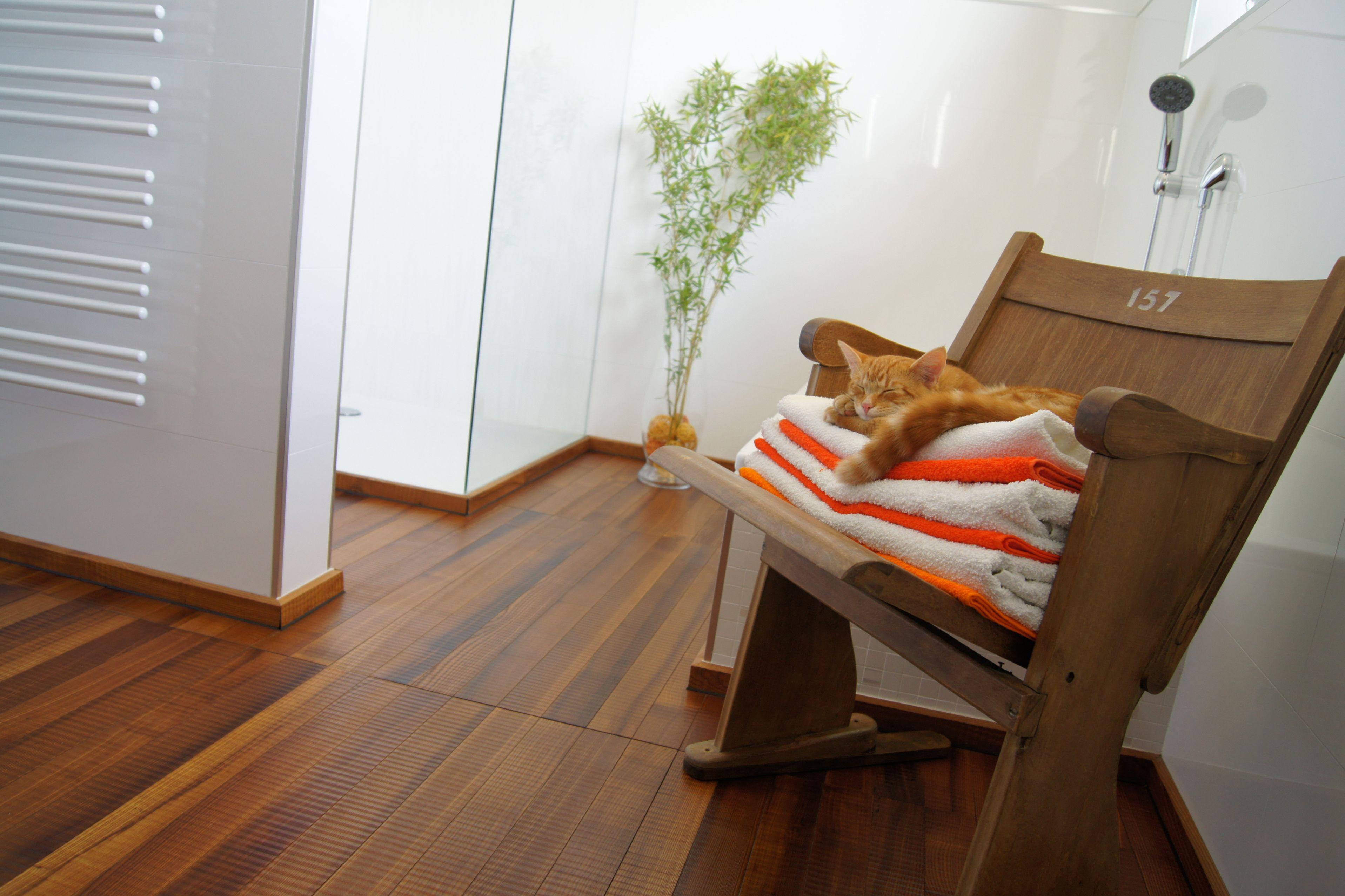 Holzböden sorgen für ein ausgeglichenes Raumklima