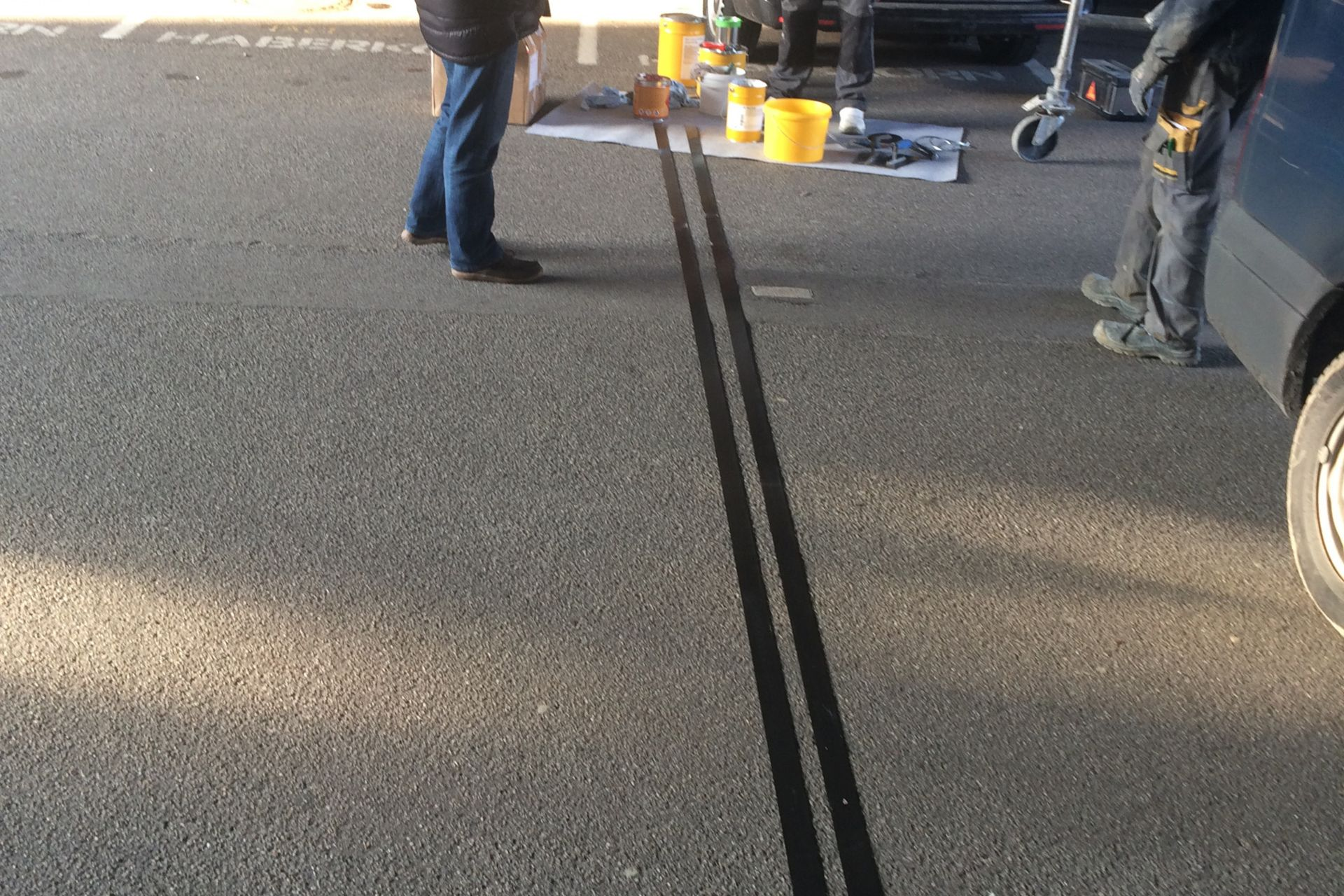 Sanierung eines Unterzuges mit CFK-Lamellen