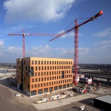 Auf 19.500 m² finden Büros, Apartments und ein Hotel genügend Platz