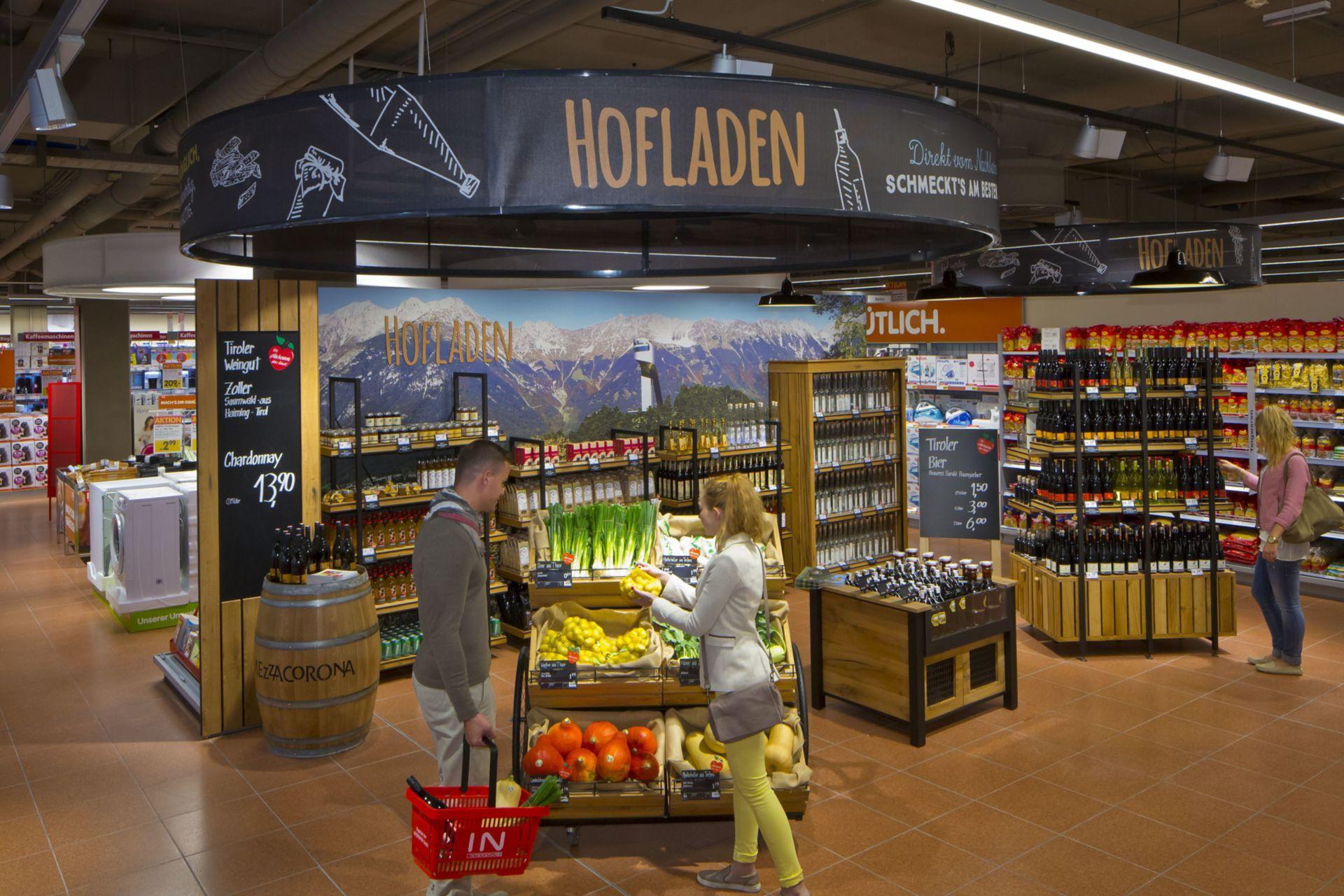 Vorzeige-Markt mit österreichweit einzigartigem Sortiment und Ladenbau