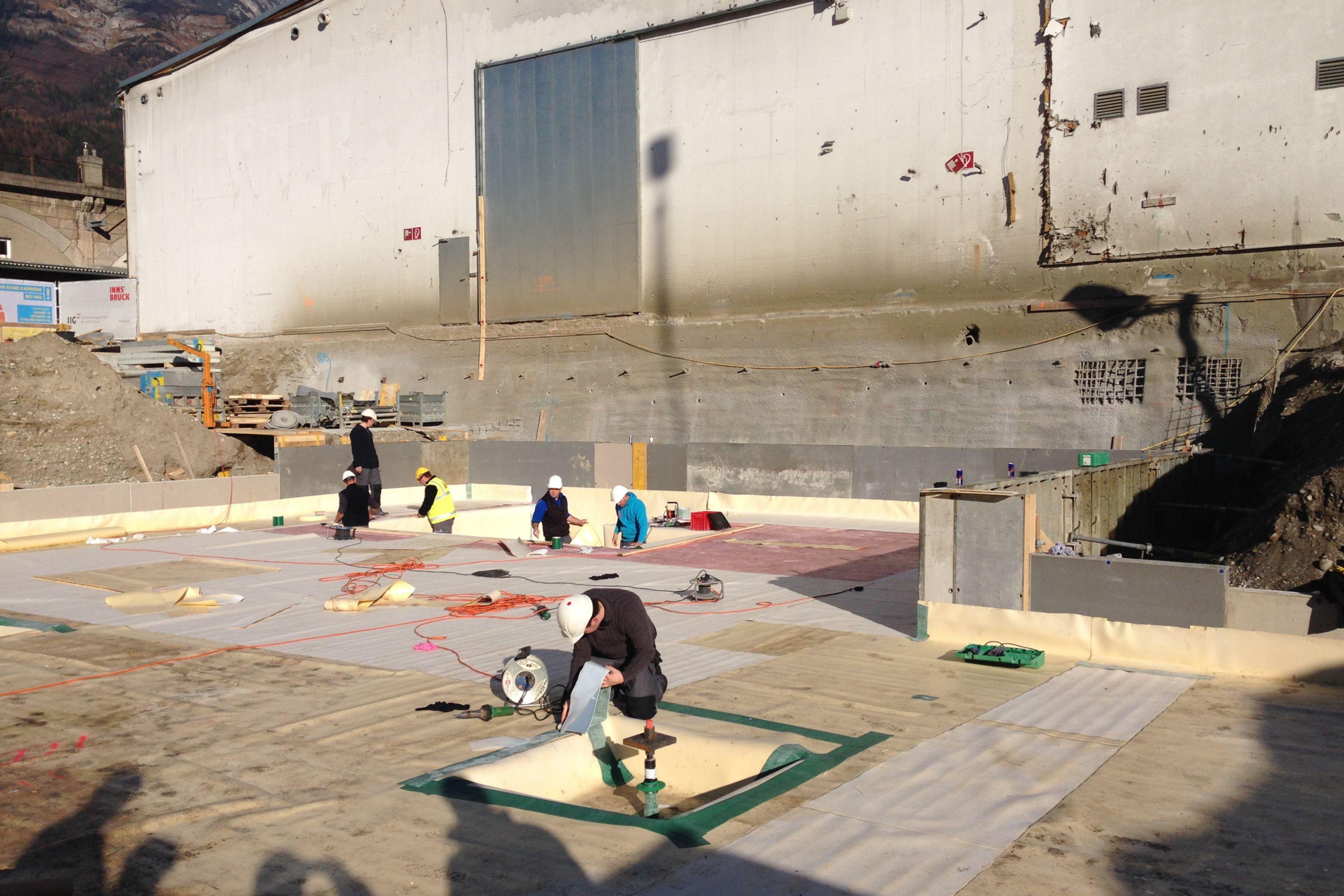 Auftriebssicherung der Bodenplatte