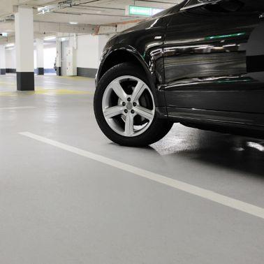 Garagenbeschichtungssystem OS 11B im Einkaufszentrum