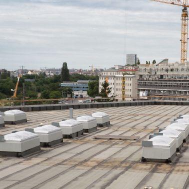 Rund 40.000 m² groß ist das Dach des Smart Campus