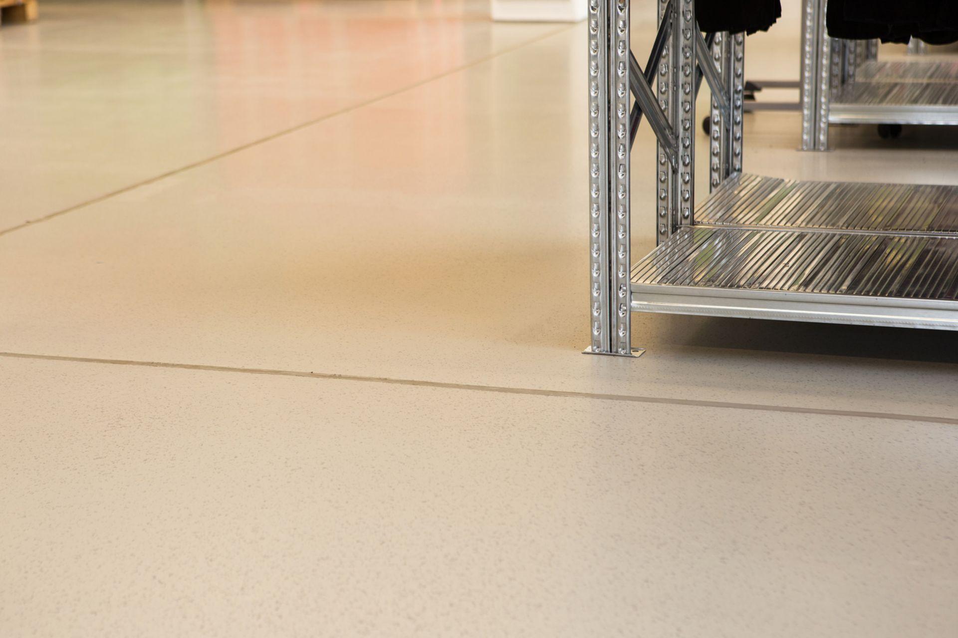 Sauber gearbeitete Fugen erleichtern die Reinigung