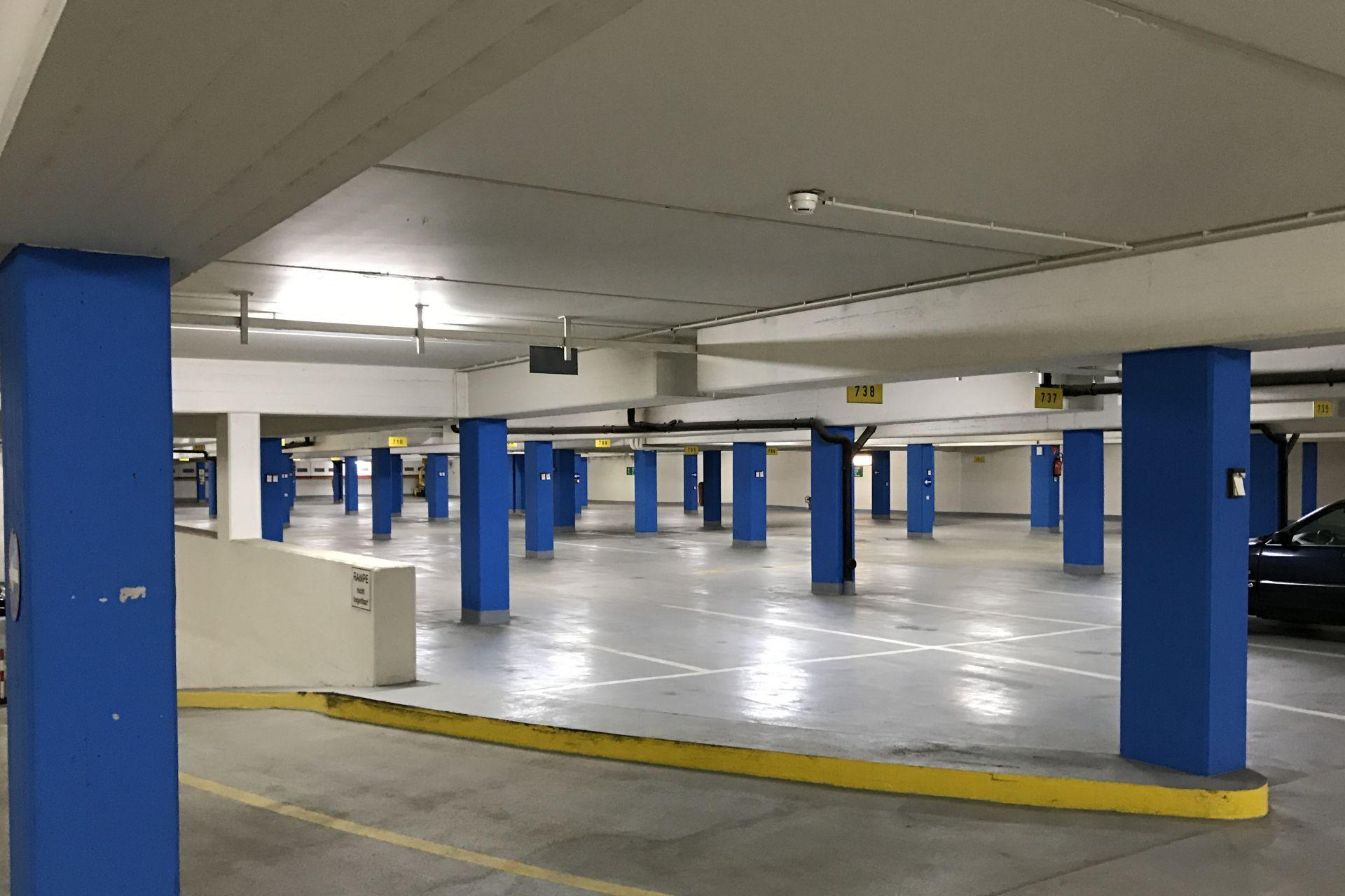 Gut geplante Raumaufteilung sorgt für rund 600 Stellplätze