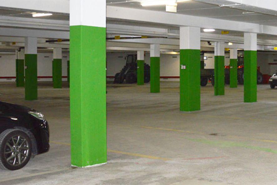 Über 17.200 m2 Bodenfläche wurden saniert