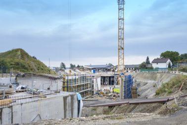40.000 m² Abdichtung für die Untertunnelung
