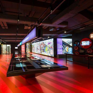 Auf mehr als 700 m² sind interaktive Stationen aufgebaut