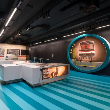 Die fugenlose Bodenbeschichtung wirkt elegant und modern