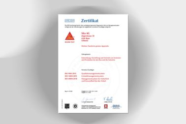 Thumbnail ISO Zertifikate