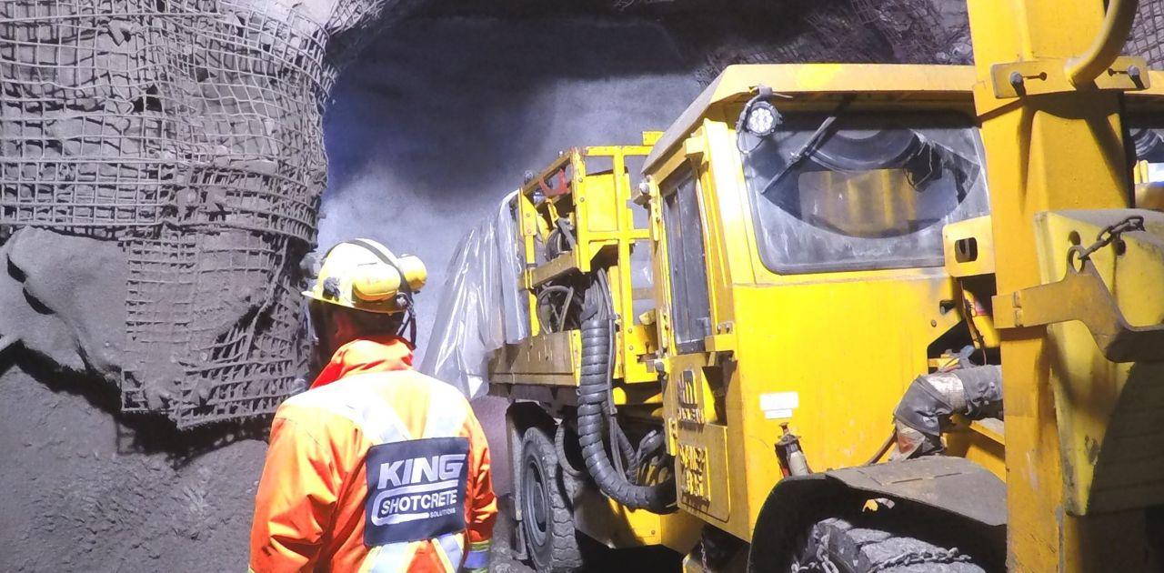 Underground mine