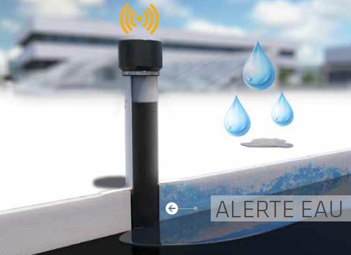 Sika SmartRoof Control - alerte eau