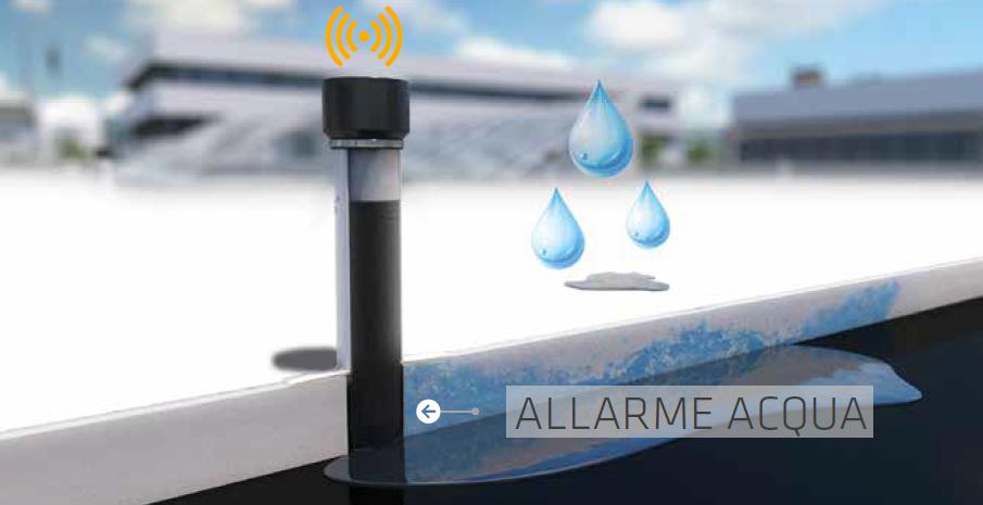 Sika SmartRoof Control - allarme acqua