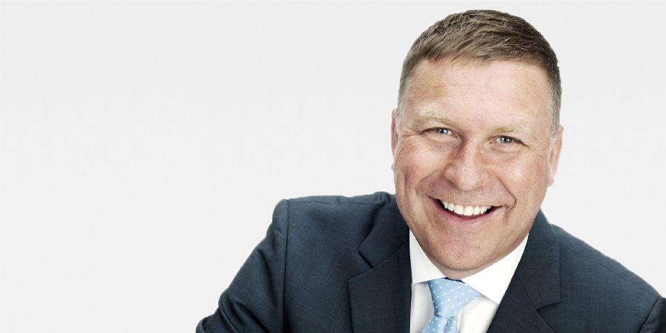 Portraitfoto Martin Keller, Geschäftsführer Sika Schweiz AG