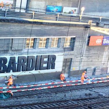 Betoninstandsetzung, Perronüberdachung Bahnhof Bern