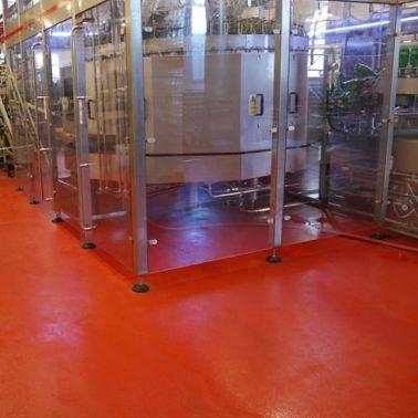 Sanierung Industrieboden in Weinkellerei