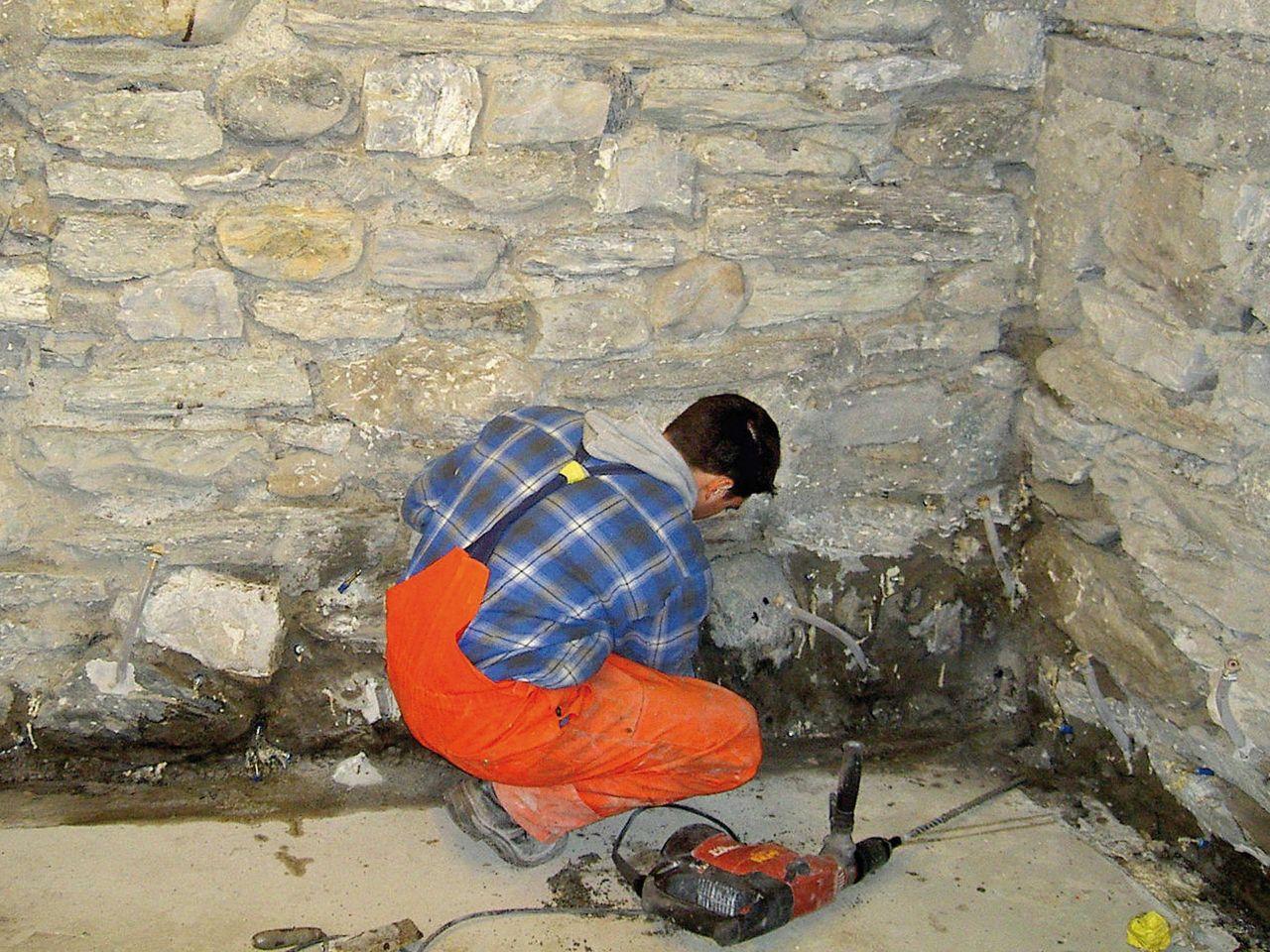 Mauerwerkssanierungen