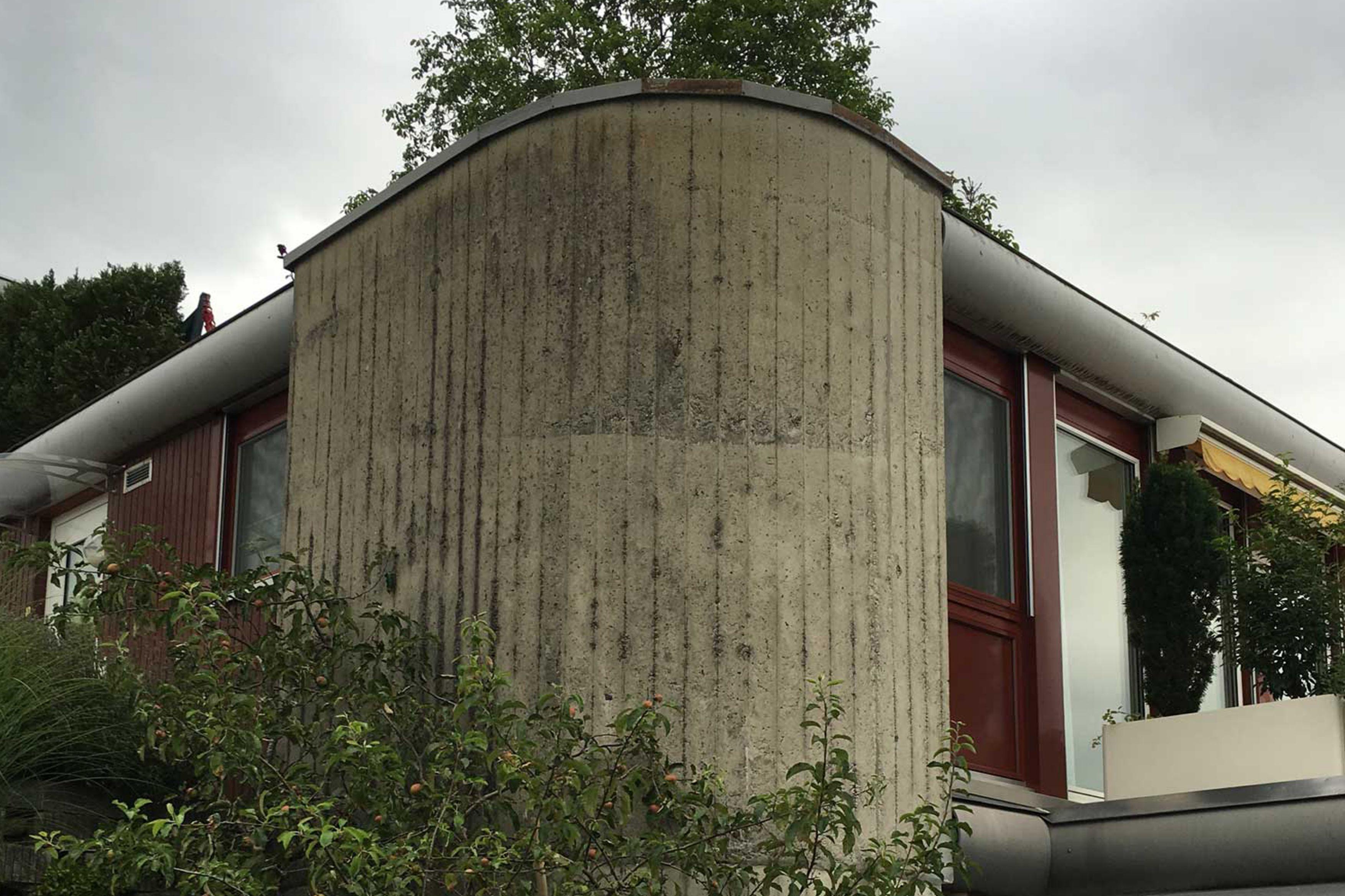 Sichtbetonsanierung Terrassenhäuser Eich