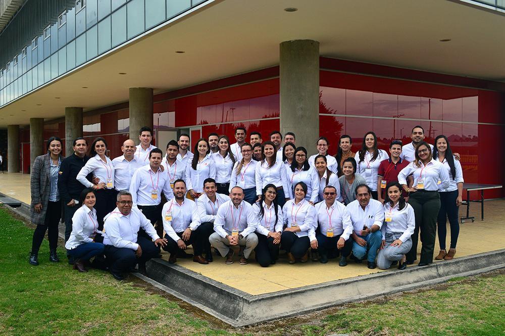 Empleados de Sika Colombia en planta Tocancipá