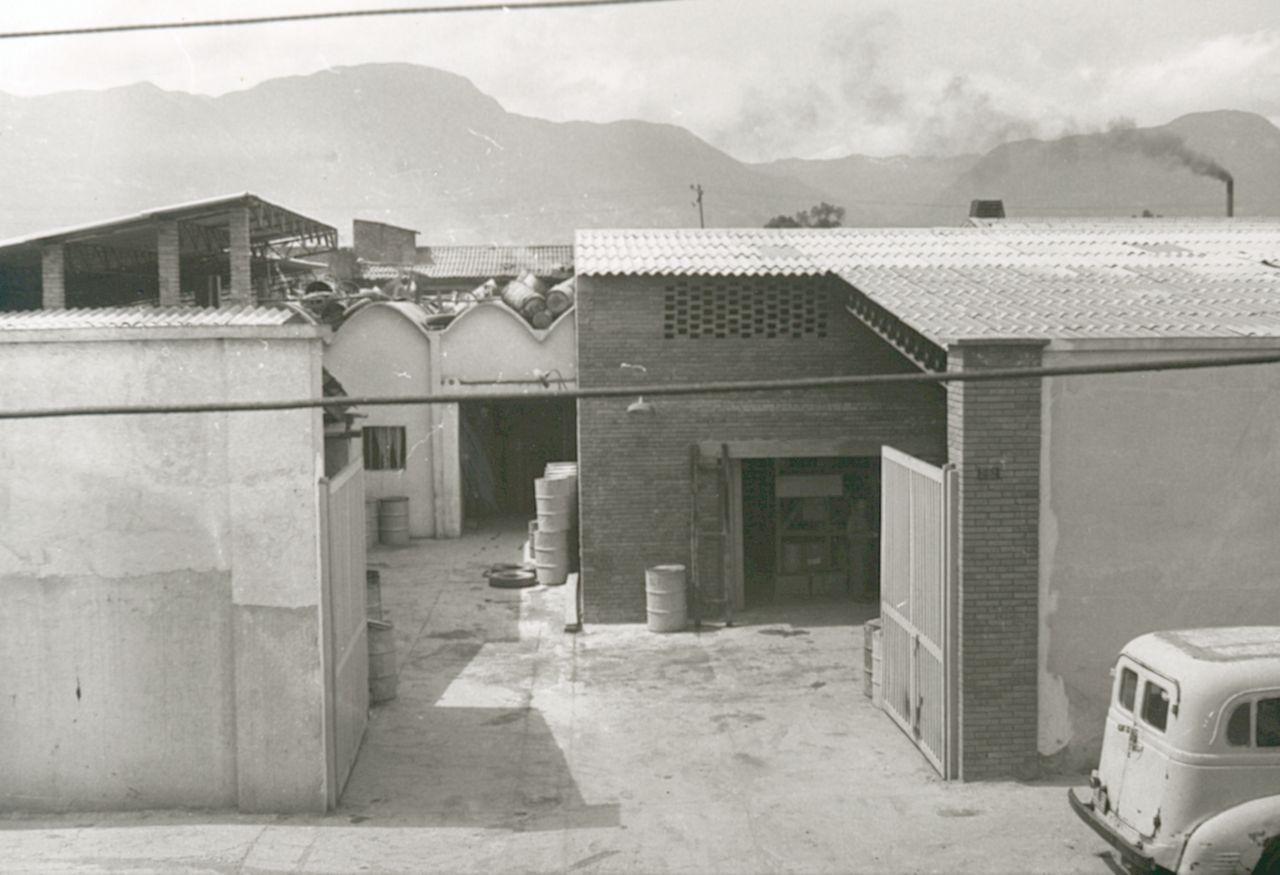 Primera planta de Sika en Bogotá