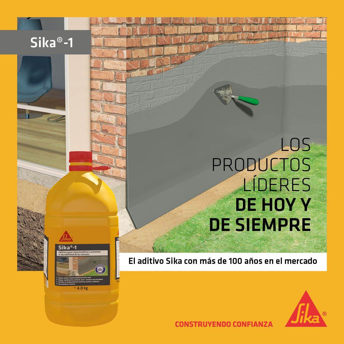 Sika 1 el aditivo Sika con más de 100 años en el mercado