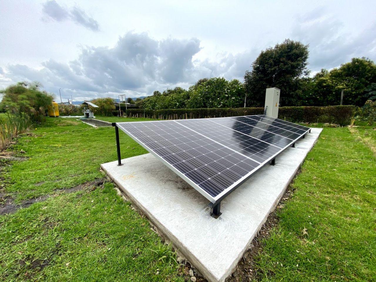 Planta de energía solar fotovoltaica
